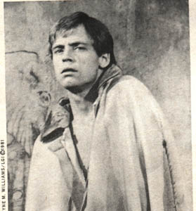 Mark in The Elephant Man