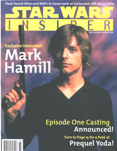 Mark on the cover of Star Wars Insider
